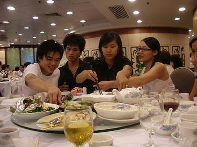 table manners in china
