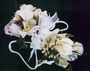 elegant corsage for the wrist