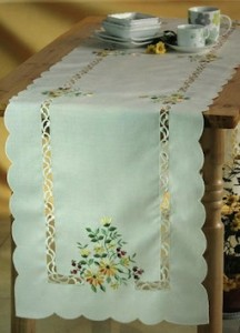 elegant country table runners