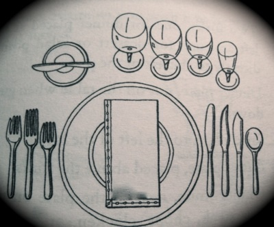 table setting etiquette by emily post