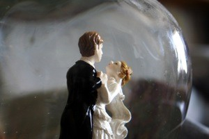 elegant wedding toppers