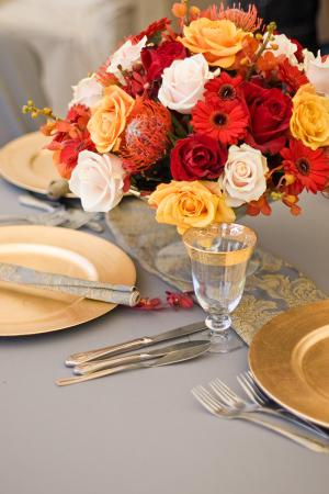 elegant table decorations